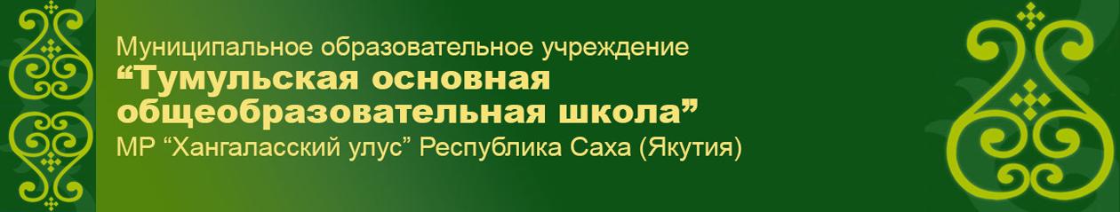 """МБОУ """"Тумульская ООШ"""""""